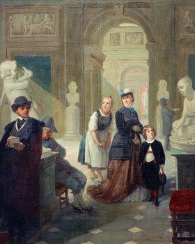 Moritz Daniel Oppenheim: Museumsbesucher