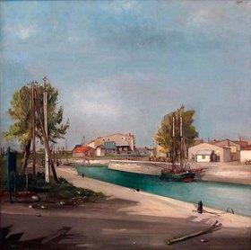 Francis Gruber: Landschaft auf der Il de Re