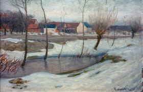 Leopold von Kalckreuth: Winter
