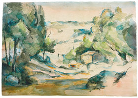 Paul Cézanne: Paysage en Provence (Landschaft in der Provence)