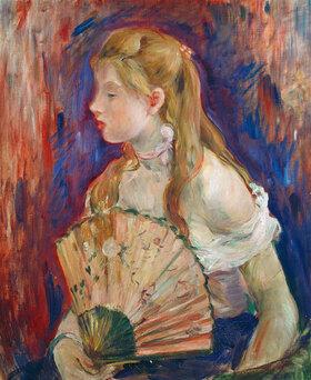 Berthe Morisot: Junges Mädchen mit Fächer