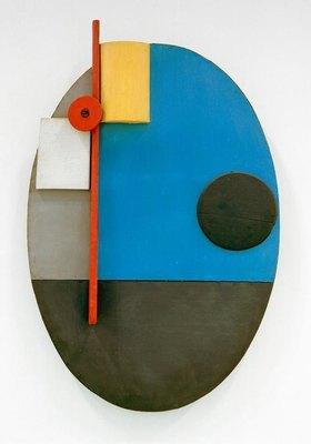 Kurt Schwitters: Ovale Konstruktion, c