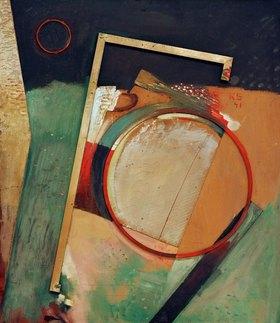 Kurt Schwitters: Bild mit Ring und Rahmen