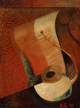 Kurt Schwitters: stillife with penny