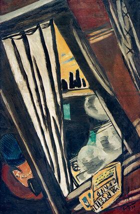 Max Beckmann: Golden Arrow: Blick aus dem D-Zug-Fenster