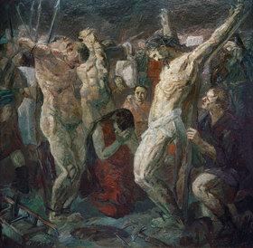 Max Beckmann: Kreuzigung