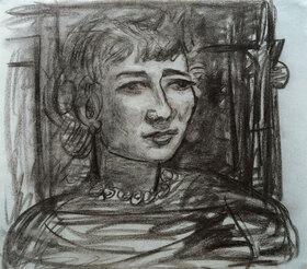 Max Beckmann: Portrait Frances van Veen