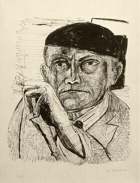 Max Beckmann: Self Portrait (Selbstbildnis)