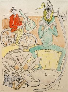 Max Beckmann: CIRCUS (Zirkus)