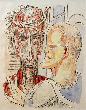 Max Beckmann: Christus und Pilatus