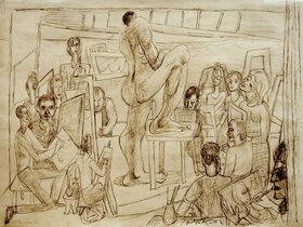 Max Beckmann: Studenten