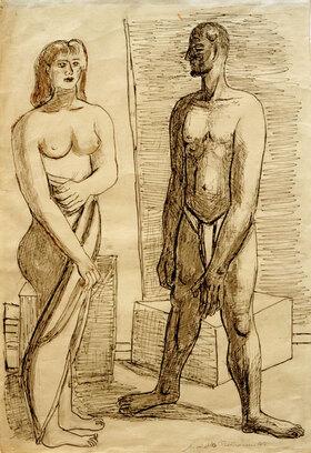 Max Beckmann: Modelle