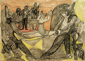 Max Beckmann: Nachtclub in New York