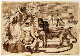 Max Beckmann: Perseus' (Herkules') letzte Aufgabe
