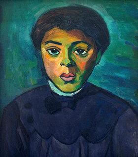 Alexander Kanoldt: Bildnis eines Mädchens