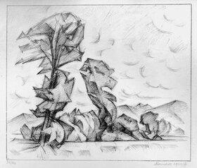 Alexander Kanoldt: Bäume