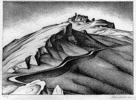 Alexander Kanoldt: Il paese di Bellegra
