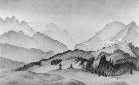 Alexander Kanoldt: Bergwelt