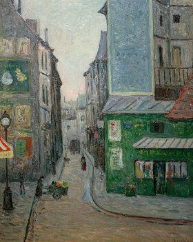 Maxime Maufra: Platz St. André des Arts, Rue Suger, Paris