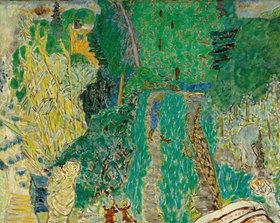 Pierre Bonnard: Garten mit kleiner Brüueke