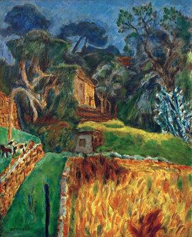 Pierre Bonnard: Paysage méridional (L'Enclos aux chèvres)