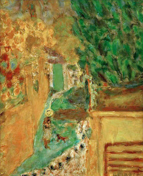Pierre Bonnard: Treppe in Le Cannet