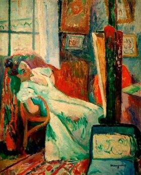 Henri Manguin: Schlafendes Modell (Jeanne)