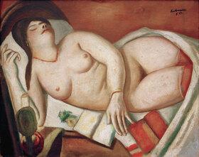 Max Beckmann: Schlafende