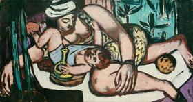 Max Beckmann: Mutter mit spielendem Kind