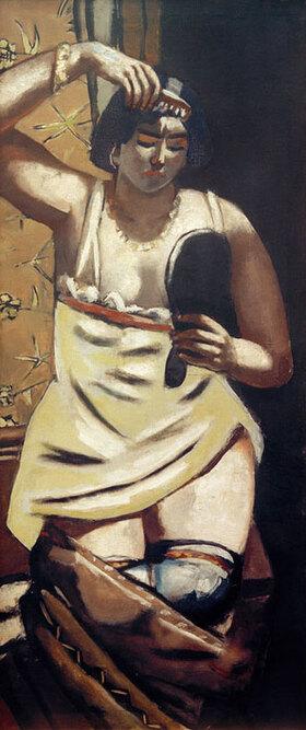 Max Beckmann: Zigeunerin, Akt mit Spiegel