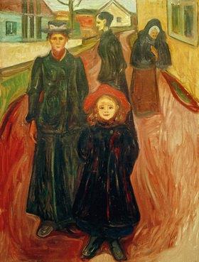 Edvard Munch: Vier Lebensalter