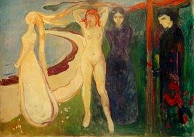 Edvard Munch: Die Frau (Sphinx)