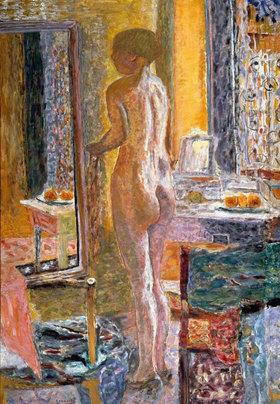 Pierre Bonnard: Nu au miroir (La Toilette)