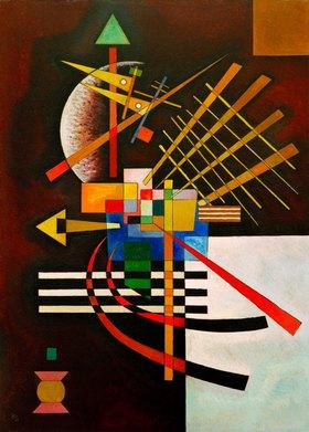 Wassily Kandinsky: Oben und links, 1925.