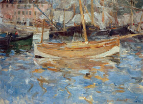 Berthe Morisot: Der Hafen von Nizza