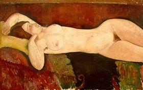 Amadeo Modigliani: Liegender Akt ? Le Grand Nu, um 1919, Öl auf Leinwand, 72,4 × 116,5 cm