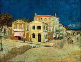 Vincent van Gogh: Das gelbe Haus, Arles, 1888.