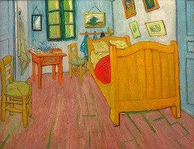 Vincent van Gogh: The bedroom, Arles