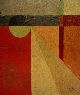 Kurt Schwitters: Abstraktion 45 / Kugelkleid