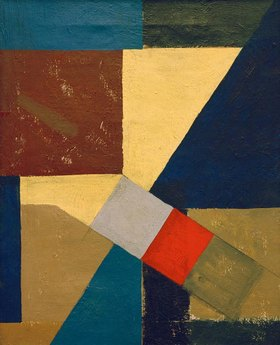 Kurt Schwitters: Abstrakte Komposition
