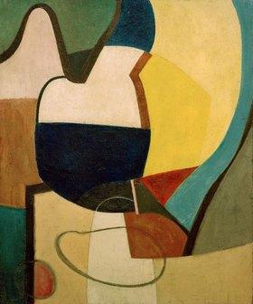 Kurt Schwitters: Still Life on a Table Top, 1945., Öl auf Leinwand, 76,8 × 62,2 cm.Inv. HVB-Nr. 30.015München, Sammlung Hypo-Vereinsbank