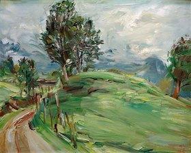 Kurt Schwitters: Schwitters, Kurt 1887?1948.?Ohne Titel?, 1939.Öl auf Leinwand, 53 × 63,5 cm.Per Kirkeby