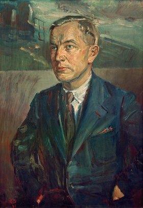 Kurt Schwitters: Portrait Alf Schultes