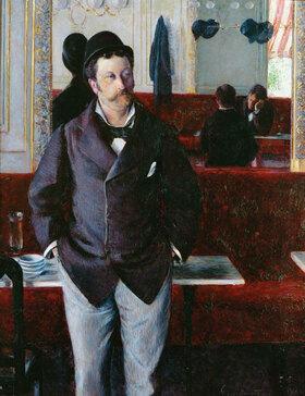 Gustave Caillebotte: Dans un Café