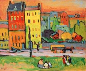 Wassily Kandinsky: Häuser in München