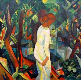 August Macke: Paar im Wald