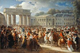 Charles Meynier: Einzug Napoleons in Berlin, 27. Oktober