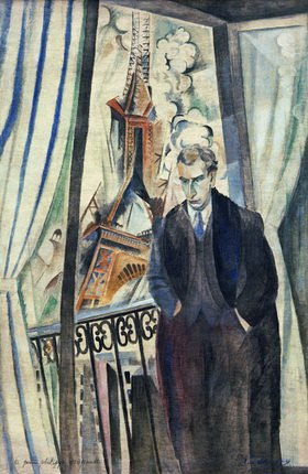 Robert Delaunay: Le poéte Philippe Soupault