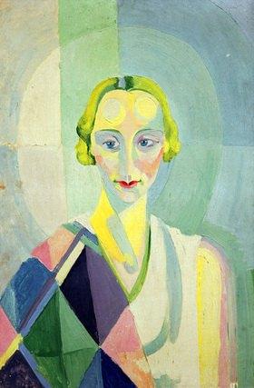 Robert Delaunay: Portrait Madame Heim