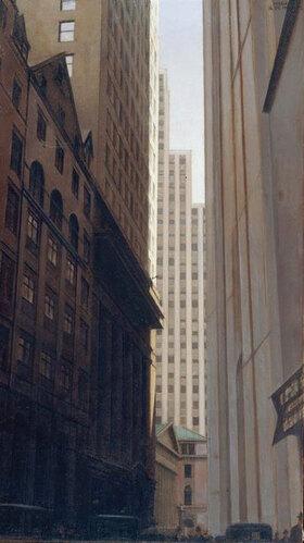Bernard Boutet de Monvel: Manhattan, Wall Street, Financial District